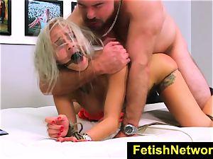 FetishNetwork Marsha May corded blonde