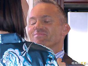hotwife wife Peta Jensen cooch thrashed by Bill Bailey