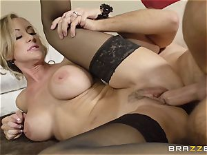 The hubby of Brandi love lets her plow a different guy