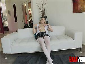 Bamvisions mischievous schoolgirl Giselle Palmer