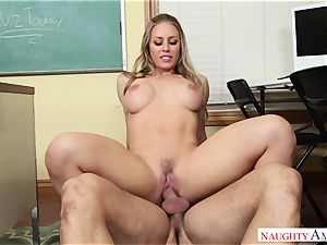 Nicole Aniston - My first instructor, who told me about bang-out and took my manmeat on the desk