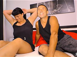 SEXTAPE GERMANY - pov orgy with first-timer German duo