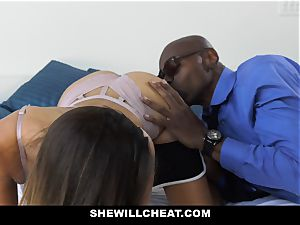 ShewillCheat - uber-sexy wife screws big black cock