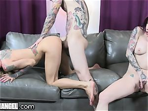 busty inked cougar Cams With Joanna Angel
