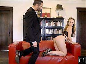 NF chesty- Lena Paul Surprises Her boss At Home S6:E11