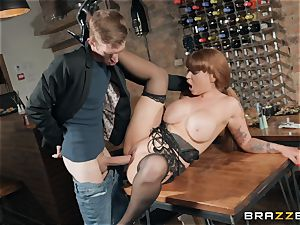 Danny sticking his phat manmeat into super-hot sandy-haired