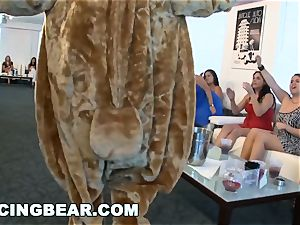 CFNM hotel party with fat man-meat male Strippers