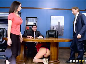 How to poke in the office with Olivia Austin