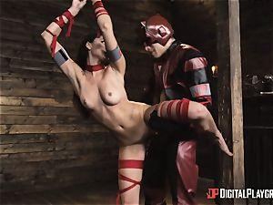 crazy superhero sex with Ariana Marie and Xander Corvus