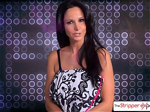 The Stripper experience- Ava Addams and get a adorable pound
