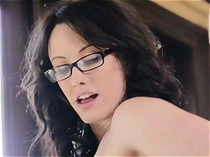 Jennifer milky gets to join the act with Elena Koshka