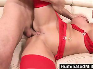 HumiliatedMilfs crazy assistant likes a big shaft