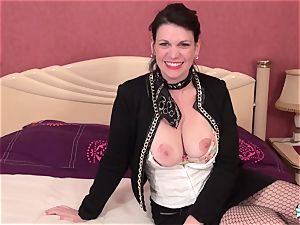 La Cochonne - super-steamy cunt and butt pummel with French mature