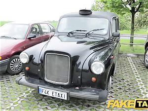 fake taxi slim redhead likes rough fuck-fest