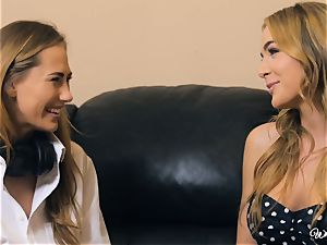 Carter Cruise and Blair Williams enjoy each others sizzling cootchies