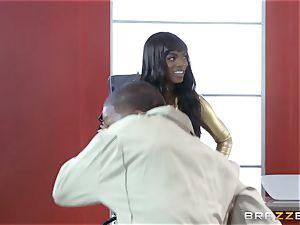 Nikki Benz and Romi Rain getting banged