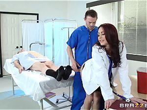 marvelous medic Monique Alexander pummels her trainee