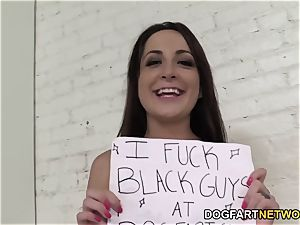 Marley Blaze Gets Buttfucked By A black Stranger