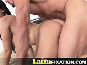 LatinFixation cock hungry Aletta Ocean