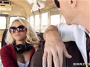 nasty hitchhiker Marsha May fuckin' torrid bus driver