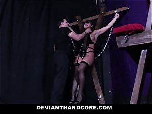 DeviantHardcore - gonzo nubile fucked in dungeon space