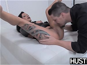 emo milf Lola luscious coochie pulverized with rod and fucktoys