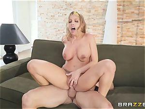 Britney Amber taking jism on her face
