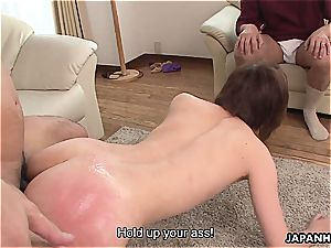 cheating japanese wife boned in a humid session