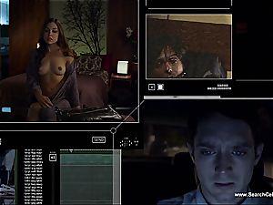 sexy Sasha Grey bares her puny breasts