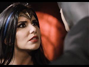 Justice League hard-core part 5 - Hero intercourse with Romi Rain