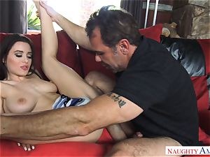 Lana Rhoades getting porked by a ample weenie