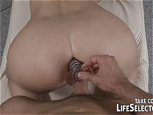 A private trainer trains his customers vulvas.