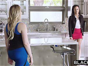 Mia Malkova and Kira deserve a huge black beef whistle