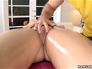 Alexis Texas touched and poked