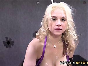 Sarah Vandella Gets boned By several dark-hued folks