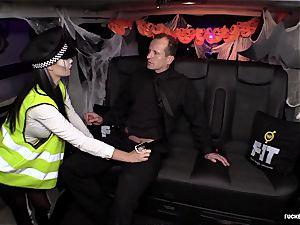 FuckedInTraffic - Jasmine Jae fucks in Halloween attire