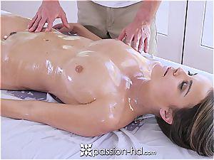 Passion-HD - Dillion Harper moist rubdown with facial cumshot