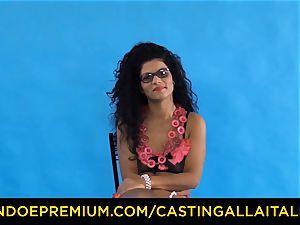 casting ALLA ITALIANA - Romanian nymphomaniac butt penetrated